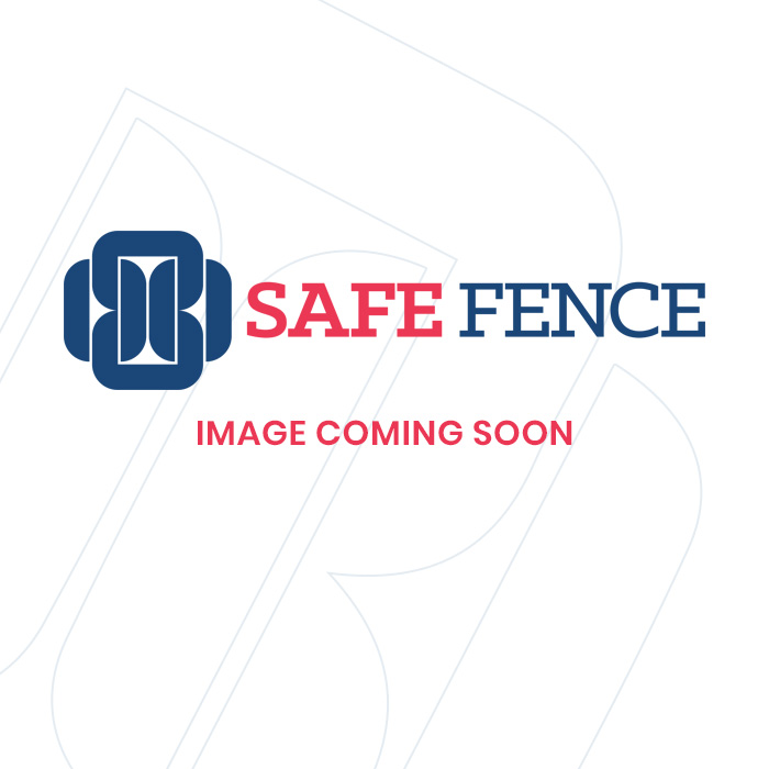 Secure semi-permanent fencing