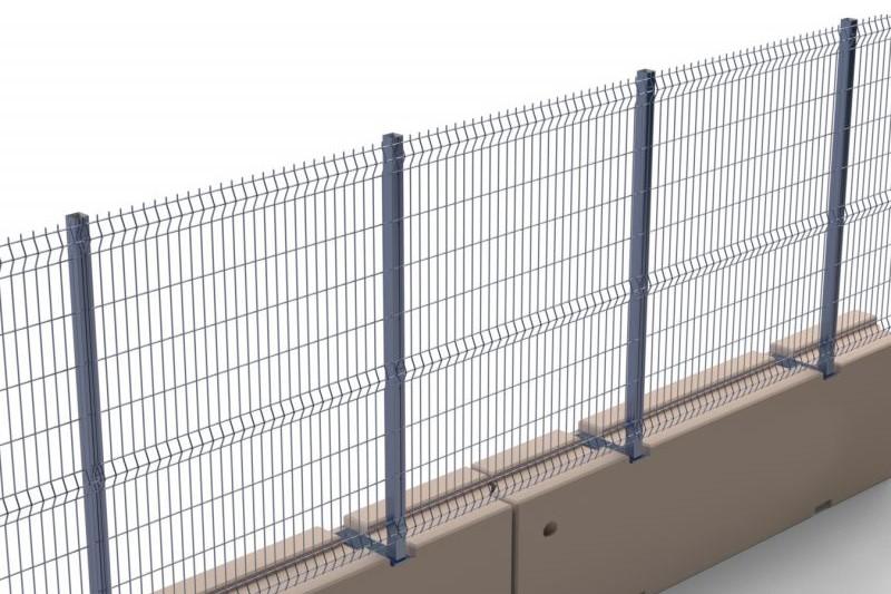 Concrete Fencing Barrier