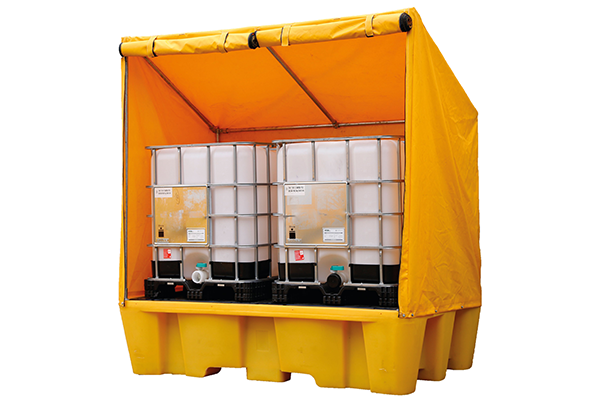 Drum & IBC Containment Safe Fence