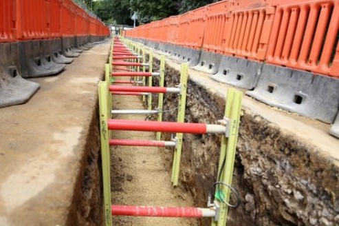 GRP Trench Shoring