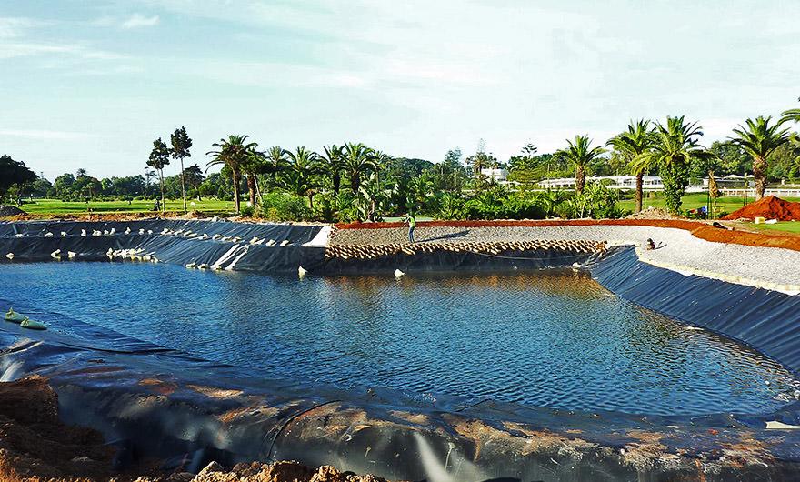 Geomembrane Pond Lining
