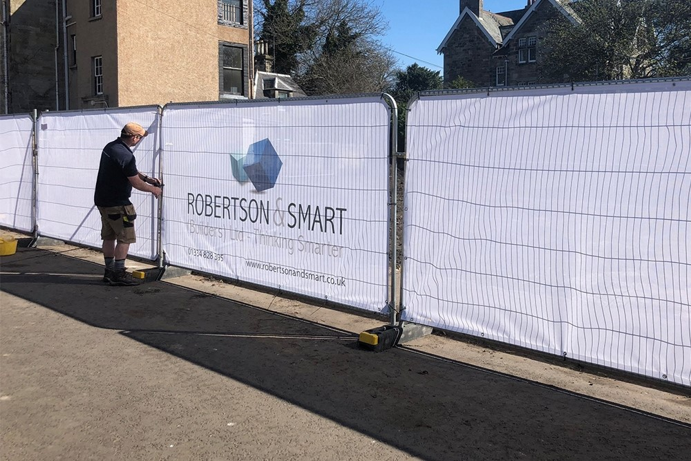 Printed Fencing Covers